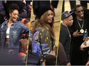 Photos : Rihanna, Beyoncé, Jay-Z, P.Diddy : rassemblement All Star à New York !