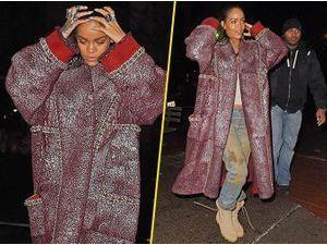 Photos : Rihanna : parfois elle a la classe... parfois pas !