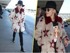 Photos : Rita Ora : un peu trop fan de Kate Moss ?