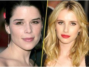 Scream 4 : Photos : Emma Roberts sera-t-elle la nouvelle Neve Campbell …ou pas ?