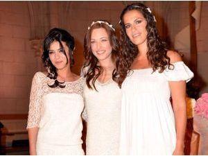 """Photos : Sonia Lacen (The Voice), Natasha St-Pier et Elisa Tovati : trois """"Saintes"""" réunies pour un showcase exceptionnel !"""