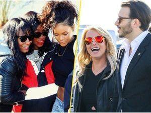 Photos : Super Bowl 2015 : Rihanna, Britney Spears, David Beckham... Les stars au rendez-vous pour le match de l'année !