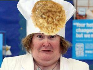 Photos : Susan Boyle : découvrez la reine de la crêpe !