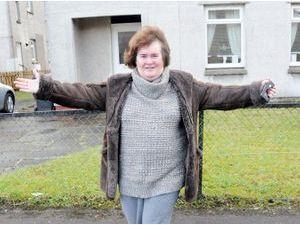 Photos : Susan Boyle : l'argent et la célébrité ne l'ont pas changée !