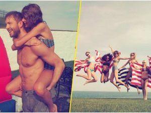 Photos : Taylor Swift et Calvin Harris : un 4 juillet sous le signe de l'amour !