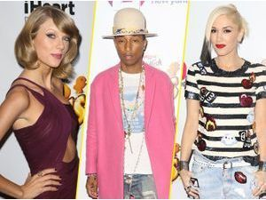 Photos : Taylor Swift, Pharrell Williams, Gwen Stefani… : pluie de stars au Jingle Ball 2014 !
