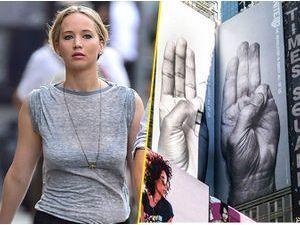 Photos : tous unis derrière Jennifer Lawrence !