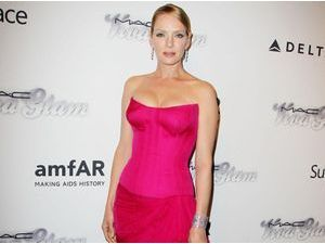 Uma Thurman : une gourmandise sur red carpet...