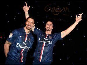 Photos : Zlatan Ibrahimovic : il entre au Musée Grévin et veut remplacer... La Tour Eiffel !