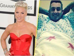 Pink : son mari Carey Hart opéré pour la septième fois du dos !