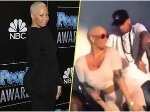 Vidéo : Amber Rose : elle s'attaque à Chris Brown avec un twerk endiablé !