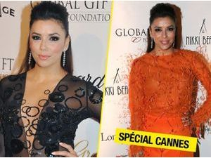 Photos : Cannes 2013 : Eva Longoria : looks transparents et colorés, elle continue de faire le show sur la Croisette !