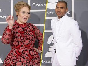 "Adele : ""Avec Chris Brown, on se complimentait sur la photo !"""