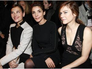Photos : Fashion Week HC : Virginie Ledoyen, Clotilde Courau et Marie-Joze Croze : ambassadrices du sobre et du chic chez Elie Saab !
