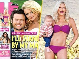 Photos : Tori Spelling : elle expose son bikini body en couverture d'un magazine !