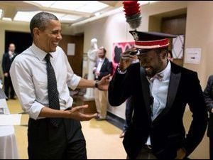 Will i am : le leader des Black Eyed Peas s'éclate avec Barack Obama !