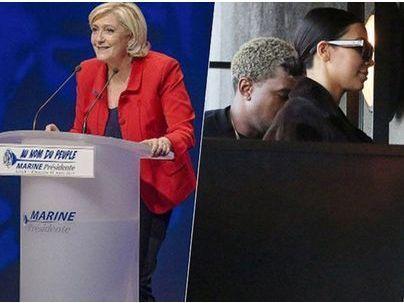 #TopNewsPublic : Marine Le Pen humiliée par Camille Lellouche, un troisième enfant pour Kim Kardashian et Kanye West ?
