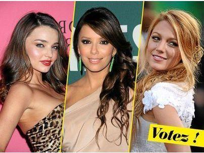 Public Glam Awards 2011 : la plus belle coiffure est attribuée à Eva Longoria !