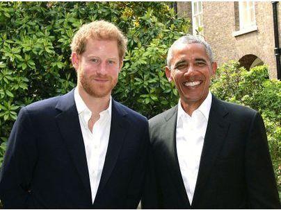 Barack Obama : Il retrouve son ami le Prince Harry à Kensington Palace !