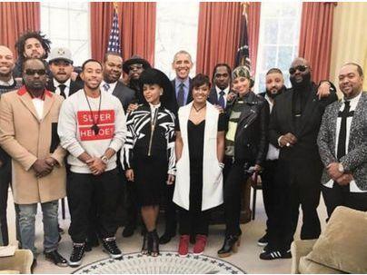 Barack Obama : il réunit la crème du hip-hop (Alicia Keys, Timbaland, Ludacris) à la Maison Blanche !