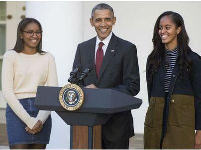 Discours d'adieu d'Obama : pourquoi Sasha était-elle absente ?