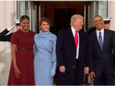 Investiture de Donald Trump : Que font les Obama aujourd'hui ?
