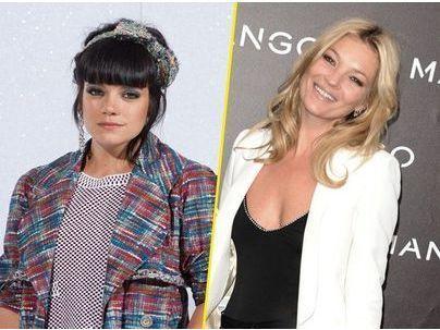 """Lily Allen : """"Évidemment que je préfèrerais avoir le physique de Kate Moss !"""""""