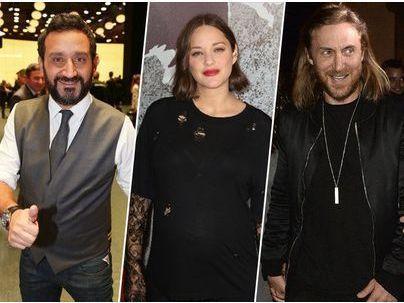 Photos : Cyril Hanouna, Marion Cotillard, David Guetta... le classement des personnalités françaises les mieux payées