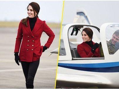 Photos : Kate Middleton s'envoie en l'air... sans le Prince William !