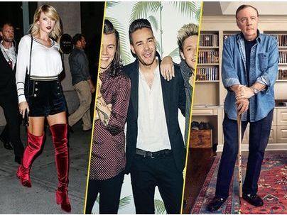 Photos : Taylor Swift, One Direction, James Patterson... Découvrez le top 20 des célébrités les mieux payés en 2016