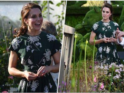 Public Royalty : Kate Middleton, une fleur parmi les fleurs au Chelsea Flower Show !