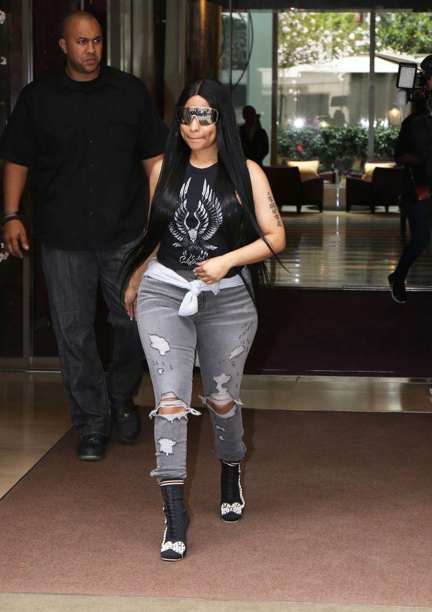 People: Nicki Minaj à Paris dans la plus grande discrétion
