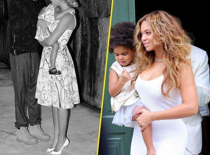 Beyoncé : comme Kim Kardashian, elle se la joue matchy-matchy avec sa baby girl !