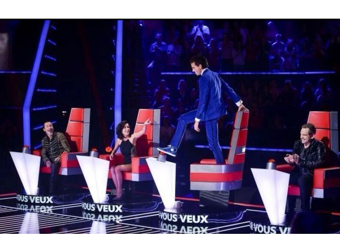 Mika dans the Voice