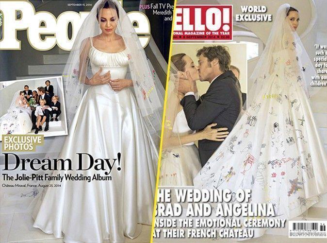 Angelina Jolie et Brad Pitt : découvrez les premiers clichés de leur mariage en France !