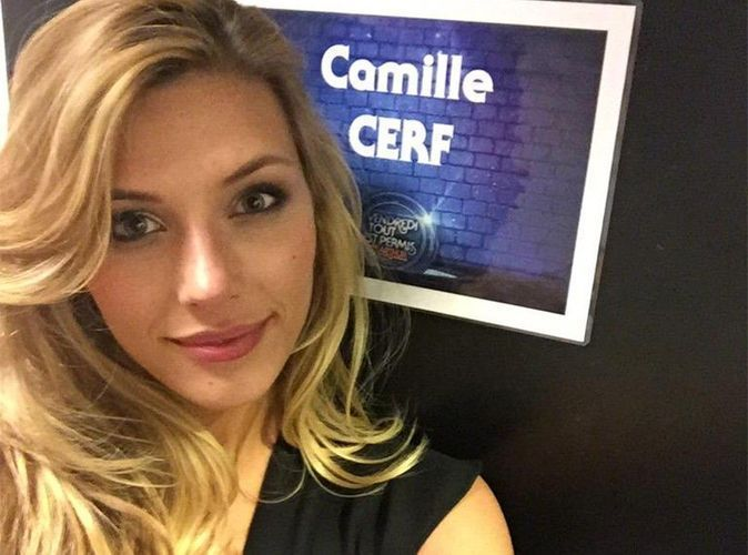"""Camille Cerf : """"Plus j'y pense et plus je me dis que j'ai un beau cul !"""""""