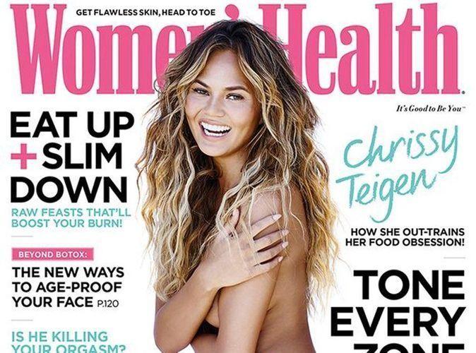 Chrissy Teigen nue et fière de l'être pour Women's Health !