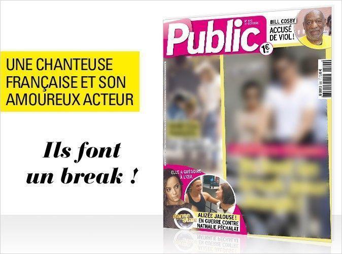 Magazine Public : Une chanteuse française et son amoureux acteur en couverture... Ils font un break !