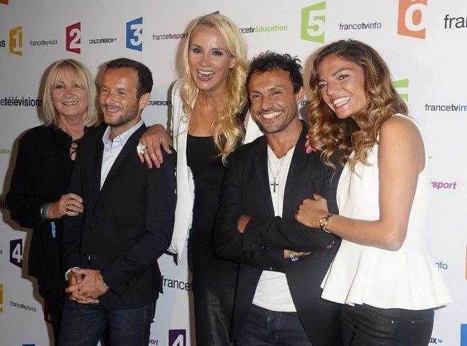 Photos : Elodie Gossuin : bye bye la bande de Cyril Hanouna, elle fait sa rentrée avec sa nouvelle famille de France Télévision !