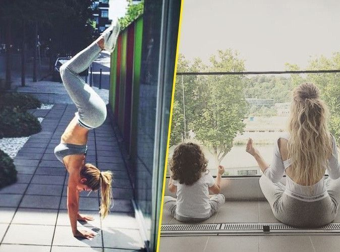 Photos : Emilie Nef Naf : rien de tel que le yoga pour entretenir son corps de rêve !