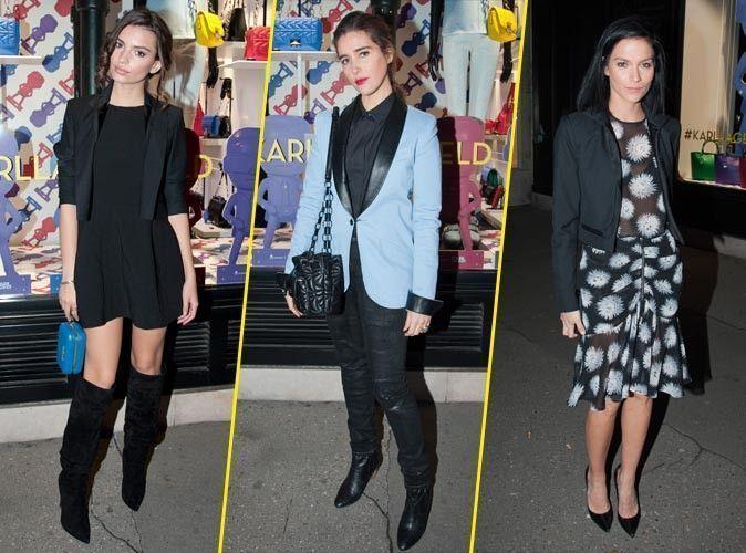 Photos : Emily Ratajkowski, Vahina Giocante, Leigh Lezark : toutes sublimes chez Karl Lagerfeld !