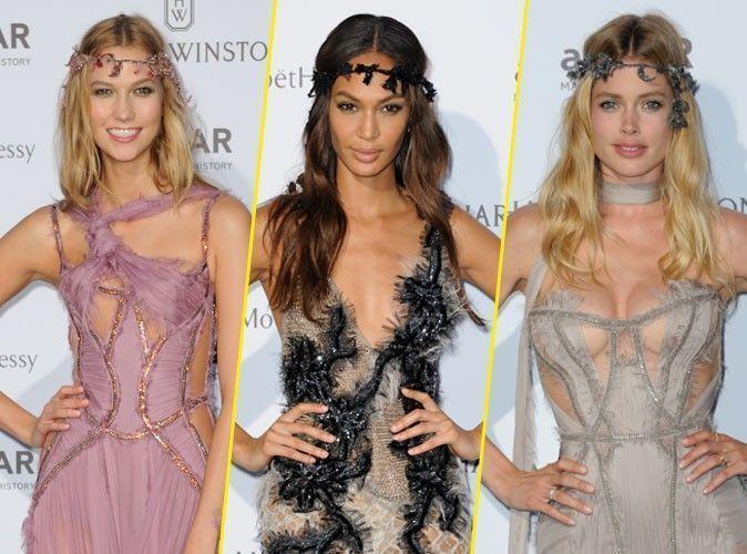 Photos : Fashion Week : Karlie, Joan, Doutzen... Pas le temps de se changer pour briller en soirée !