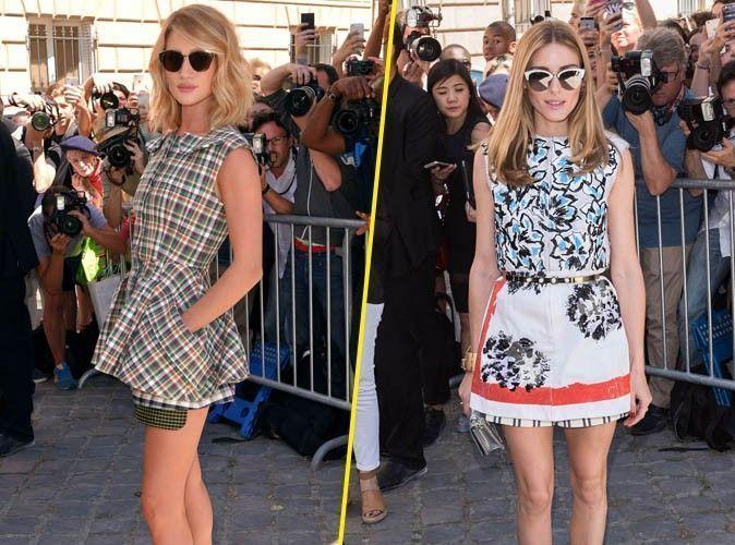 Photos : Fashion Week : Rosie Huntington-Whiteley et Olivia Palermo : deux bombes au défilé Dior !