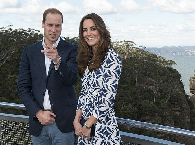 Photos : Kate Middleton et le Prince William : tourisme royal à Katoomba !
