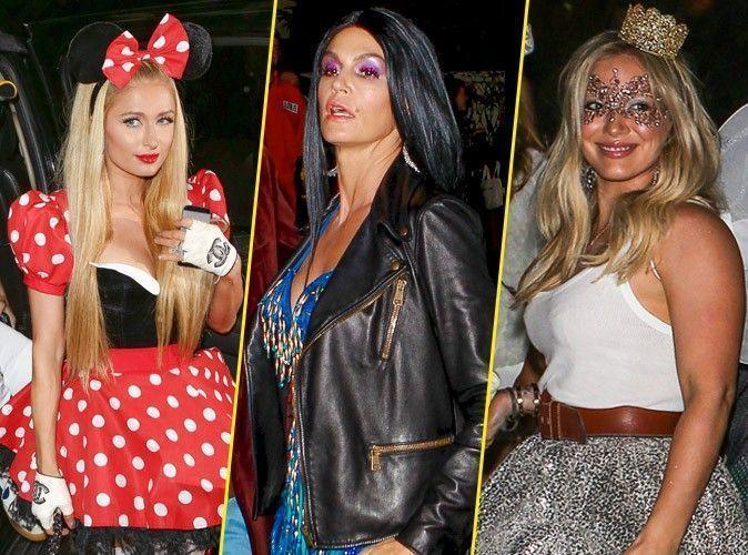 Photos : Paris Hilton, Cindy Crawford, Hilary Duff... Halloween 2014, c'est parti !