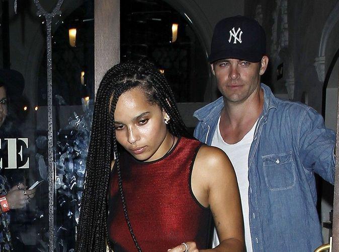 Photos : Zoë Kravitz et Chris Pine : un duo qui intrigue !