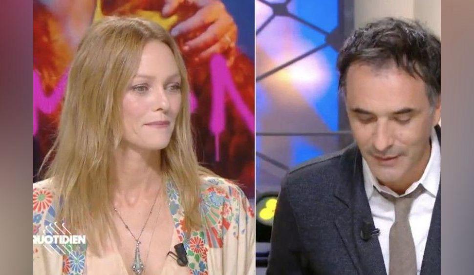 """""""Attendez, je ne suis pas ivrogne non plus"""", Vanessa Paradis très gênée par une question de Yann Barthès sur """"Quotidien"""" !"""