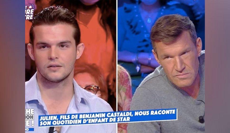 Benjamin Castaldi suicidaire : en direct dans TPMP, son fils Julien fait une triste révélation...