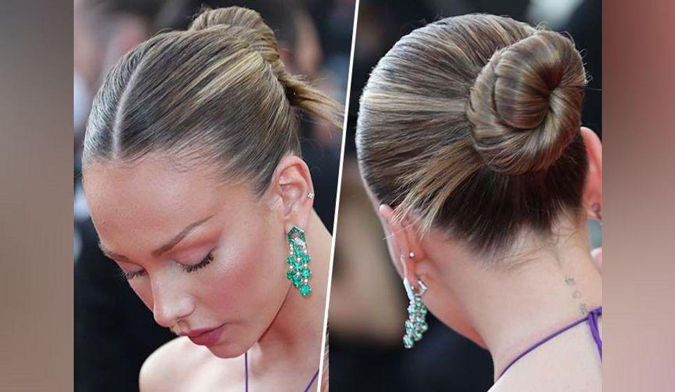 Idées coiffure d'été : comment reproduire le chignon torsadé d'Ester Exposito ?