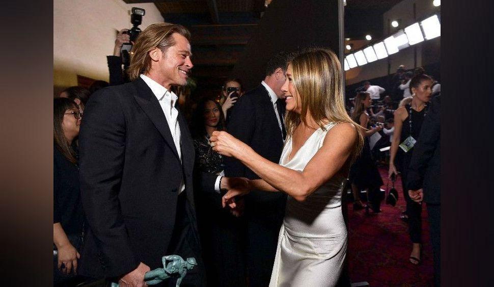 """Jennifer Aniston déshabillée : cette nuit où elle a revu Brad Pitt qu'elle """"n'oubliera jamais"""""""